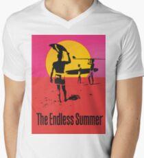 Endless Summer, 1966 Surf Sport Documentary Poster, Artwork, Drucke, Poster, T-Shirts, Männer, Frauen, Kinder T-Shirt mit V-Ausschnitt