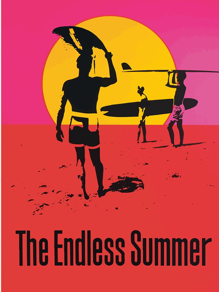 Endless Summer, 1966 Surf Sport Documentary Poster, Artwork, Prints, Posters, Tshirts, Men, Women, Kids by clothorama