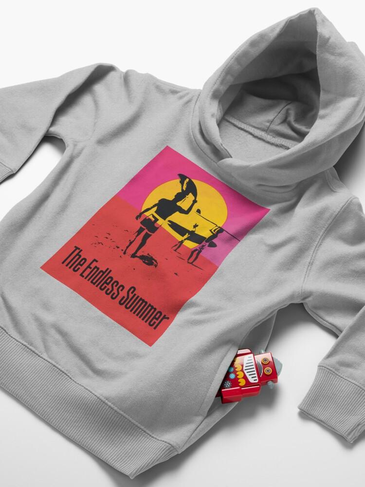 Alternate view of Endless Summer, 1966 Surf Sport Documentary Poster, Artwork, Prints, Posters, Tshirts, Men, Women, Kids Toddler Pullover Hoodie