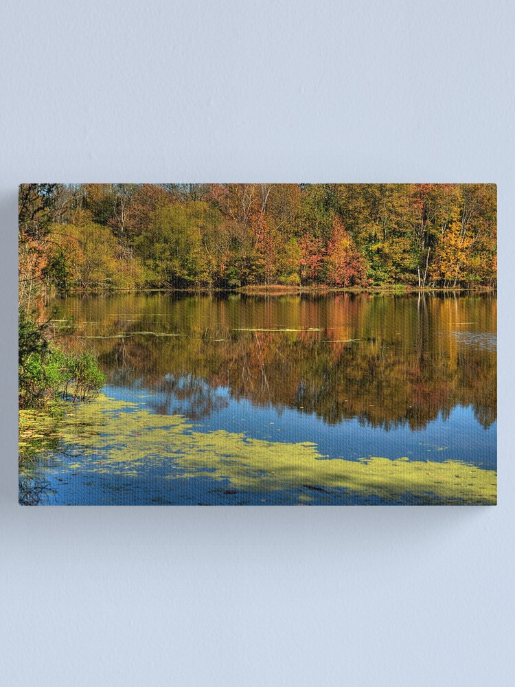 Alternate view of Refuge Reflection Canvas Print