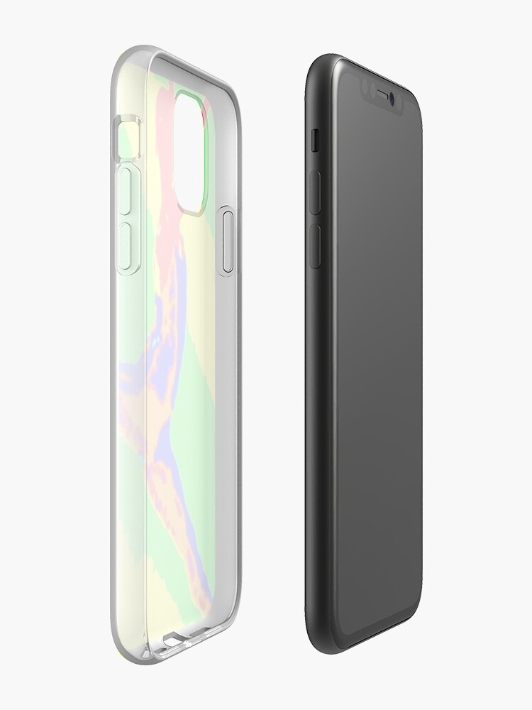 Coque iPhone « Danseur arc-en-ciel », par JLHDesign