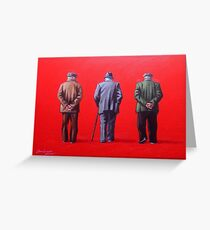 Remember when we used to paint this town red? Greeting Card