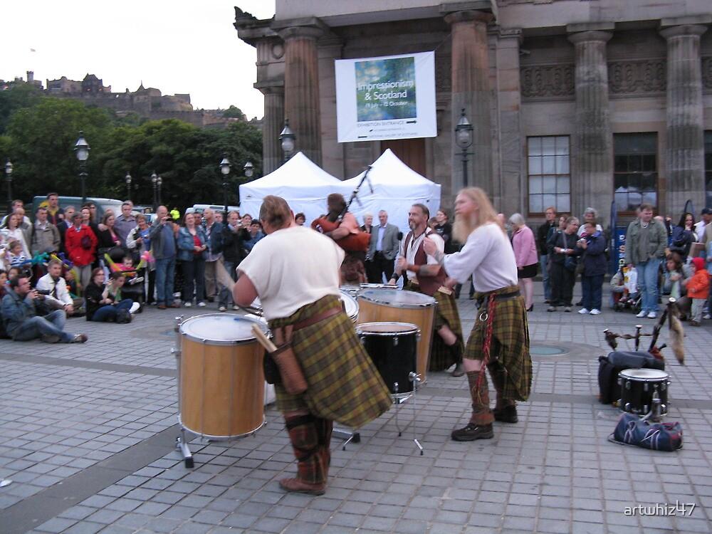 Edinburgh ~ Saor Patrol Plays by artwhiz47
