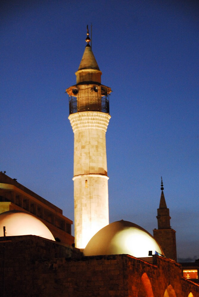 Lebanon Beruit Mosque by noelmiller