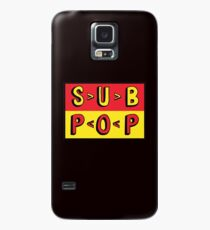 Sub Pop Records Hülle & Klebefolie für Samsung Galaxy