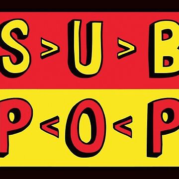 Sub Pop Records by ADesignForLife