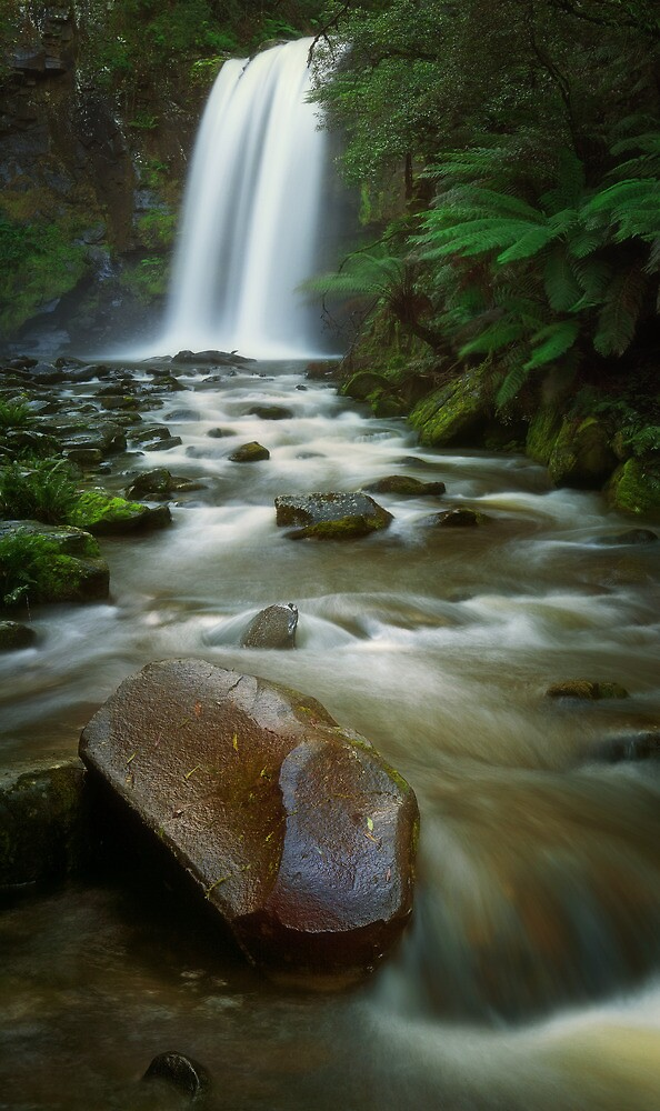 Hopetoun Falls - Otways N.P. by Mark Shean