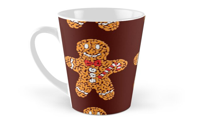 Gingerbread Man Classic Mugs - Tall