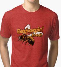 Beekeeper humor Tri-blend T-Shirt
