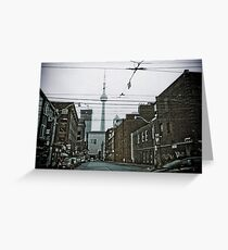 CN Tower...wired up Greeting Card