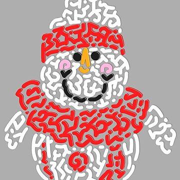 Cute Snowman by Karotene
