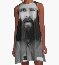 Jim Morrison A-Line Dress