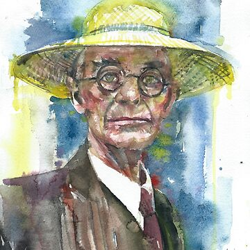 HERMANN HESSE - watercolor portrait.9 by lautir