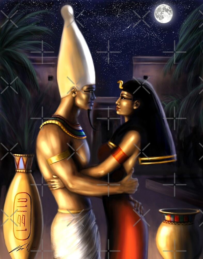 Osiris and Isis by Tanya Varga