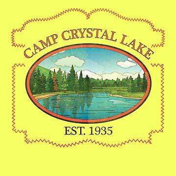 Camp Crystal Lake Counselor by Diardo