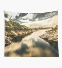 Calm still water reflections Wall Tapestry