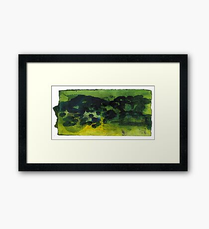My Mountains#3 Framed Print