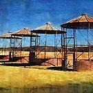 Old Farm Silos by angelcher