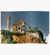 Alcatraz Lighthouse Poster