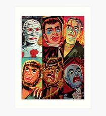 Lincoln International Monsters Art Print