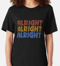 ALRIGHT ALRIGHT ALRIGHT Slim Fit T-Shirt