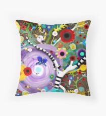 What will be revealed about you today? Throw Pillow
