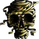 Gummiband Schädel  von MPDW