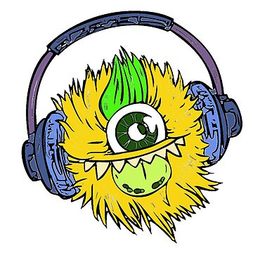 Monster with headsets  by DinksiStyle