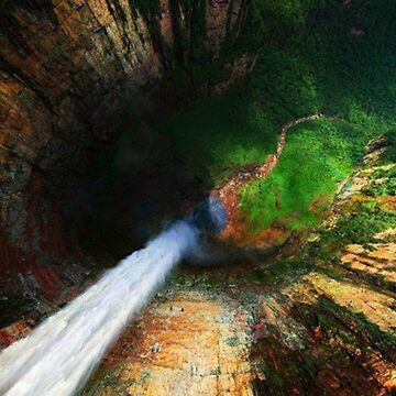 Angel Falls Venezuela by dawnmvd