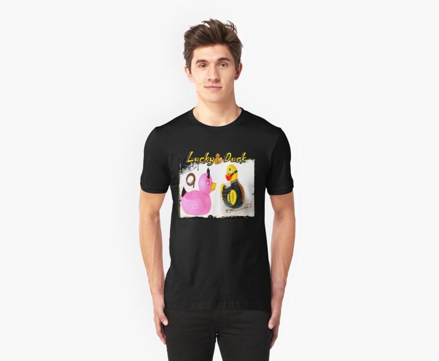 Lucky Duck T-Shirt by: www.GirlNoirNextDoor.com by gnnextdoor