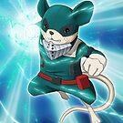 Deku Boku no Hero Academia by Puddingshades
