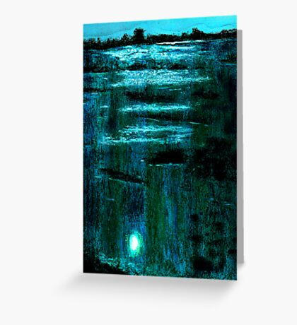 Midnight Marsh Greeting Card