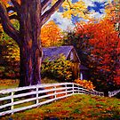 Fence in New England by sesillie