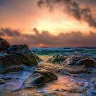 Tropical Sunset by Dawn van Doorn