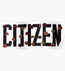 Citizen logo Poster
