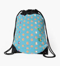 Cute eggs Drawstring Bag