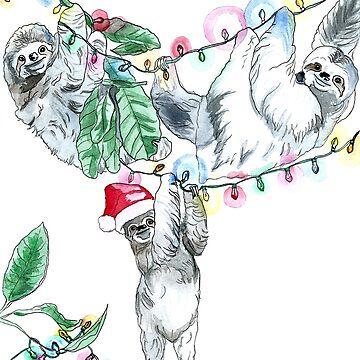 Slothmas by DReneeWilson