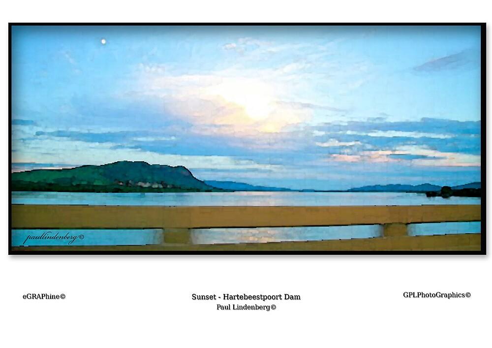 Hartebeestpoort Dam Sunset by Paul Lindenberg