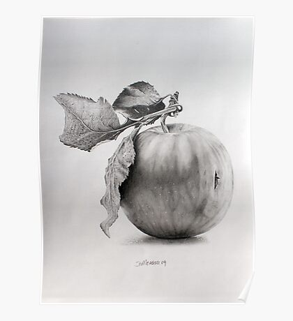 Just an apple Poster