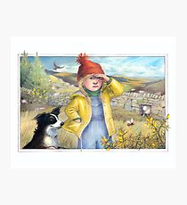 Little Bo Peep - A welsh take on the children's rhyme Photographic Print