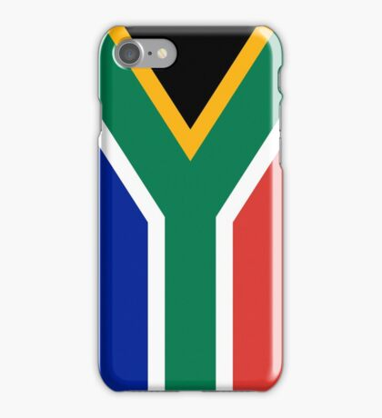 Smartphone Case - Flag of South Africa - Vertical iPhone Case/Skin