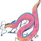 grumpy dragon by Alexia Marshall