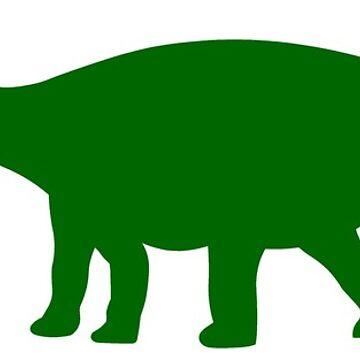 Diplodocus Dinosaur by sweetsixty