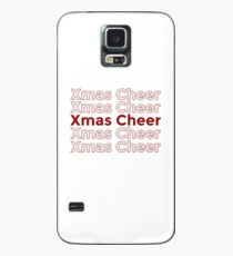 Xmas Cheer - Christmas Cheer Case/Skin for Samsung Galaxy