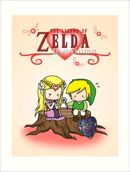 The Legend Of Zelda : Valentineu0027s Day By Nipponolife
