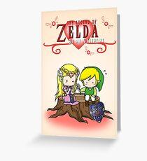 The Legend of Zelda : Valentine's day Greeting Card