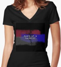 Death of a Bachelor Women's Fitted V-Neck T-Shirt