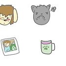 Buddinpals Stickers by Dungeonation