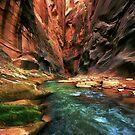Canyon Stream by Dawn van Doorn