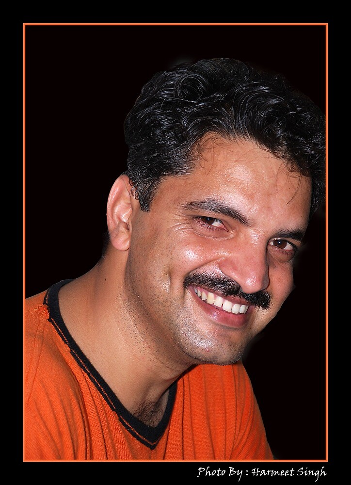 Portrait by Dr. Harmeet Singh